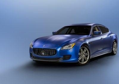 QNX CES Maserati
